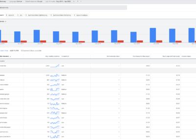 Suchebgriffe im Suchmaschinen Marketing finden